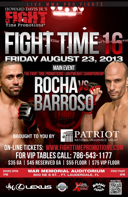 fight time 16 flyer