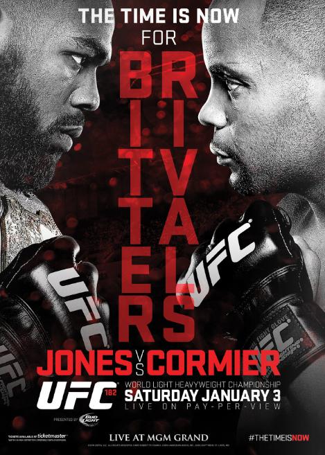 JONES VS CORMIER JAN. 3rd, 2015