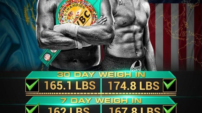 Golovkin vs Jacobs is almost here