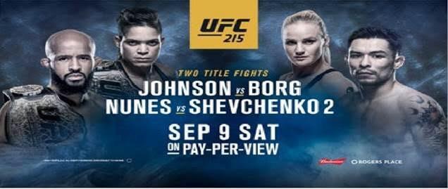 UFC 215: Johnson vs. Borg